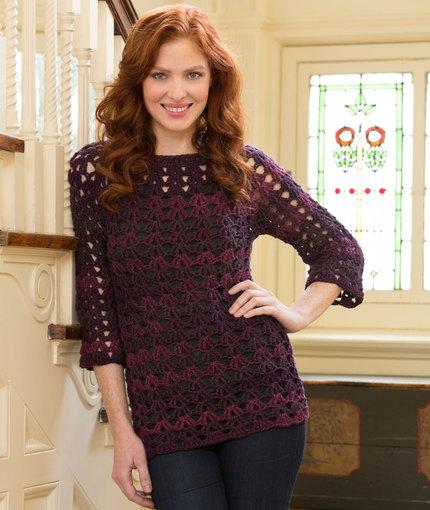 Crochet Patterns Galore Mystique Tunic