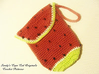 Watermelon Diaper Clutch