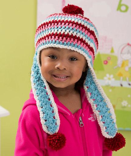 Crochet Patterns Galore Snowy Day Earflap Hat