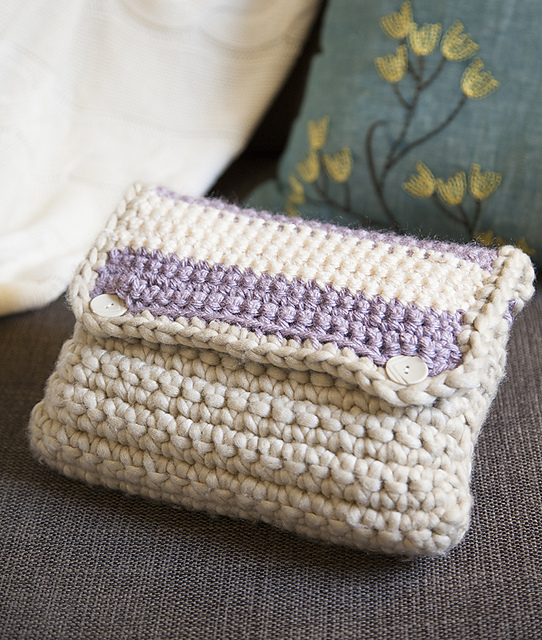 Small Crochet Pouch Pattern : Small Bag