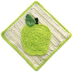 Apple Dishcloth or Hotpad
