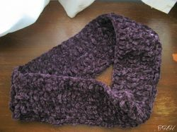 Simply Chenille Cowl