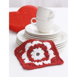 Valentine Dishcloth