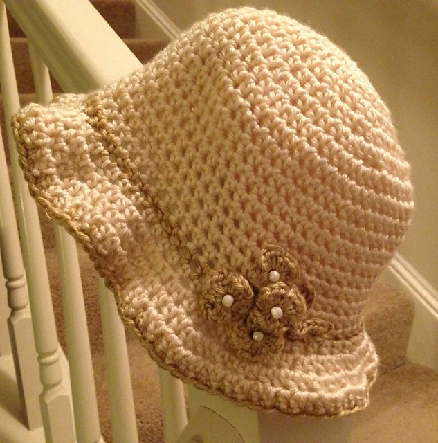 Crochet Patterns Galore - Vintage Cloche