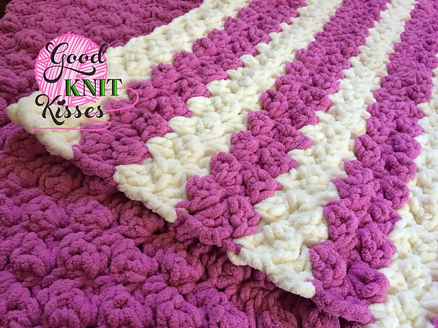 Free Crochet Patterns Using Bulky Weight Yarn : Crochet Patterns Galore - Marshmallow Baby Blanket