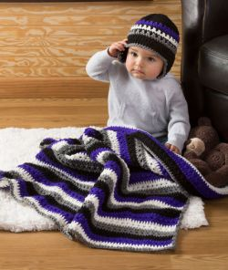 Baby Dude Blanket & Hat