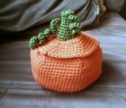Pumpkin Container