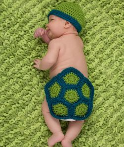 Turtle Newborn Photo Prop