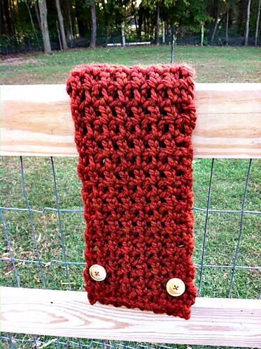 Crochet Patterns Galore - Thick & Quick Scarf