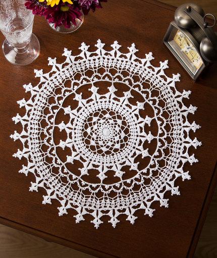 Crochet Patterns Galore Affinity Doily