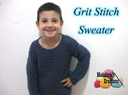 Grit Stitch Sweater