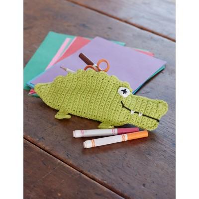Crochet Patterns Galore Alligator Pencil Case