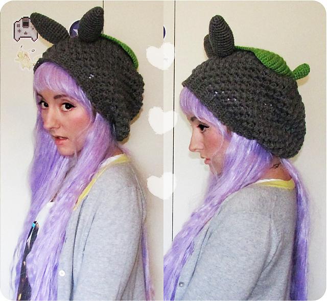 Crochet Patterns Galore Slouchy Totoro Hat