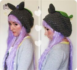 Slouchy Totoro Hat