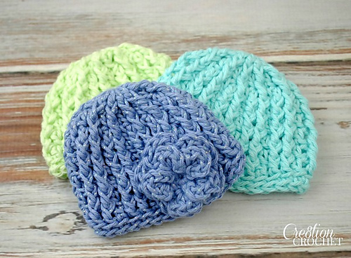 Crochet Patterns Galore - Preemie Hat