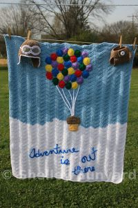 Up Inspired Baby Blanket
