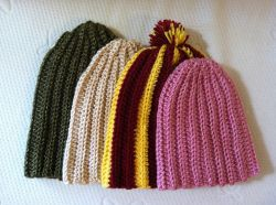 Side to Side Ribbed Hat