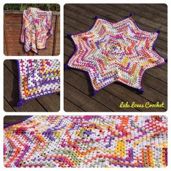 Granny Star Blanket