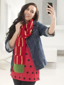 Strawberry Scarf