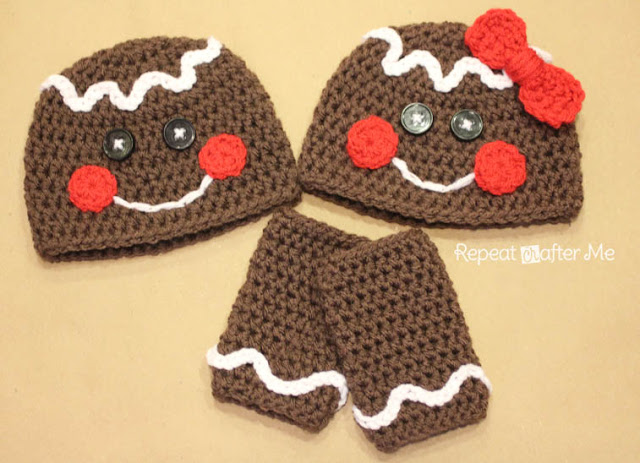 Crochet Patterns Galore Gingerbread Man Crochet Hat