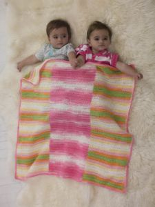 Sweetly Striped Blanket