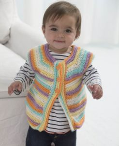 One Skein Wonder Vest