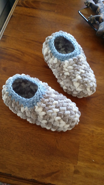 Crochet Patterns Galore Super Easy Slippers