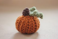 Teeny Tiny Crochet Pumpkin