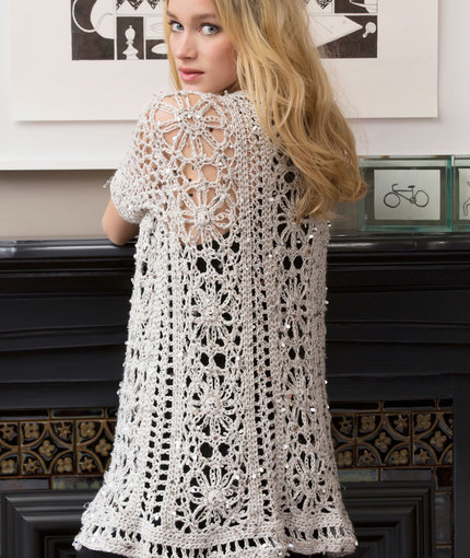 Crochet Patterns Galore Fashion Forward Duster