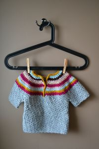 Wattle Stitch Baby Sweater