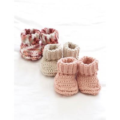 Crochet Patterns Galore Babys Booties