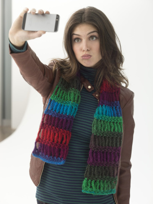 Crochet Patterns Galore Grandma S Apple Pie Scarfie