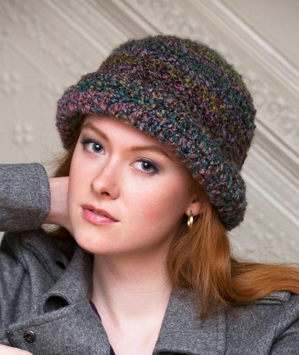 Crochet Patterns Galore City Sophisticate Hat