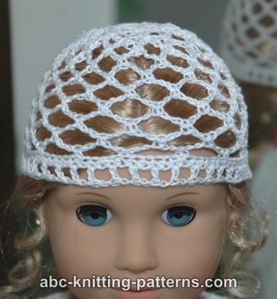 Crochet Patterns Galore American Girl Doll Lace Hat