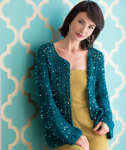 Crochet Patterns Galore Evening Cardigan