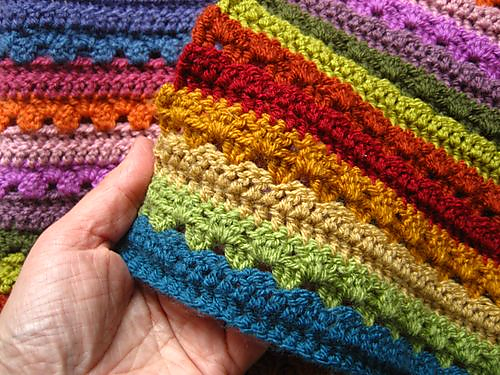 Crochet Patterns Galore Cozy Stripe Blanket
