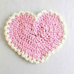 Pink Heart Placemat