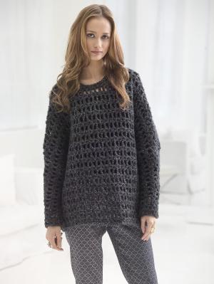 Crochet Patterns Galore Oversized Popover
