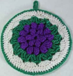 Grape Cluster Potholder