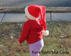 Santa Baby Long Stocking Cap