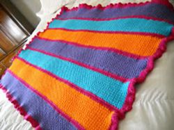 Bright, Bold and Happy Afghan