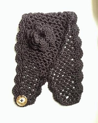 Crochet Patterns Galore Filigree Headband