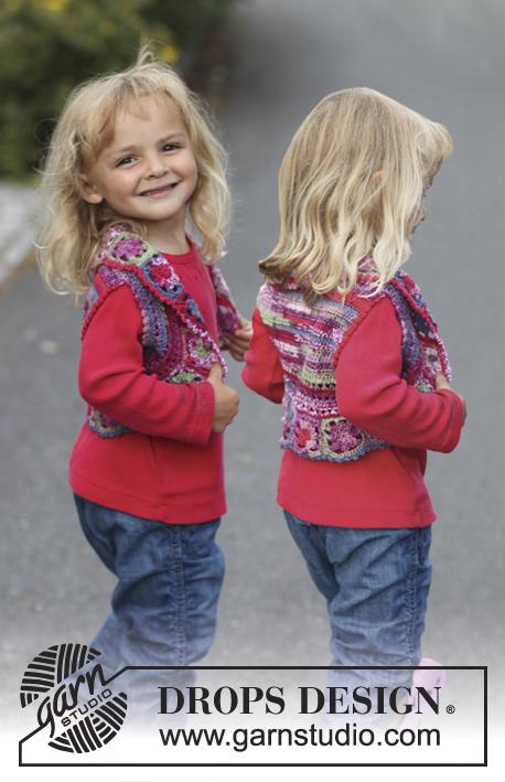Crochet Patterns Galore Drops Bolero