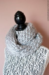 Not Knit Warm & Quick Winter Cowl
