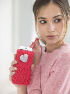 Heartfelt Phone Cozy