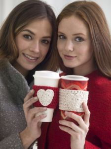 Warm Heart Cup Cozy