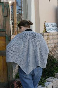 The Bat Wing Shawl