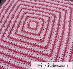 Wobbly Squares Blanket