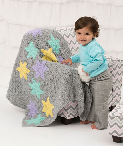 Crochet Patterns Galore Twinkle Stars Baby Blanket