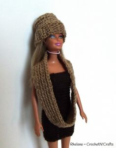 Charisma Cowl for Barbie